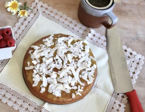 Mango Pie with Cardamom Spice