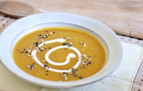 Carrot Cream with Turmeric