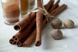 the cinnamon