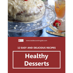 healthy desserts ebook