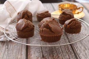 Muffins de calabaza y almendra con canela